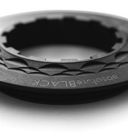 Tune absoluteBLACK Kassettenabschlussring, fÌ_r Shimano 13Z Ritzel, Aluminium, schwarz