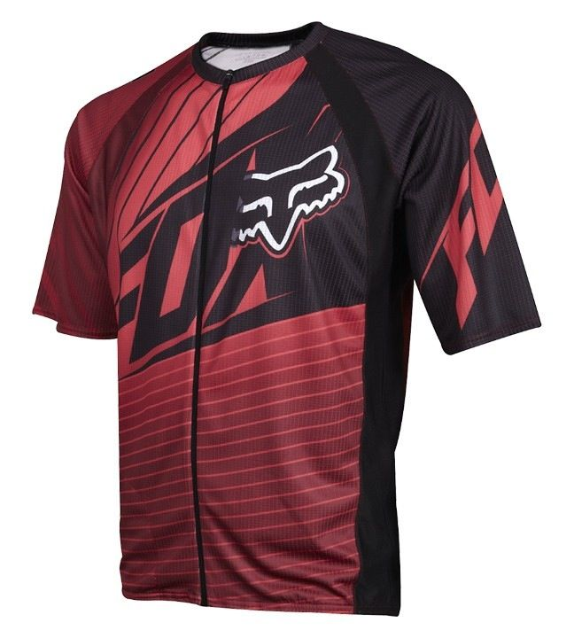 FOX Live Wire Jersey red XL