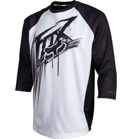 FOX Covert 3/4 Jersey medium white/black