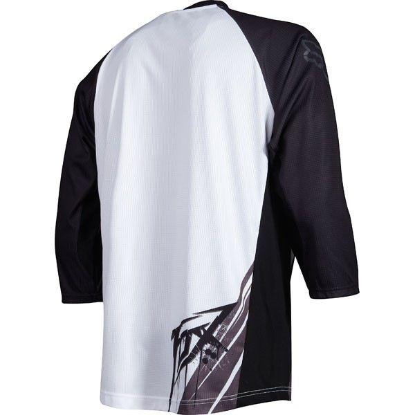 FOX Covert 3/4 Jersey medium white/black