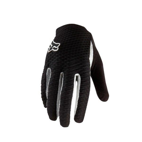 FOX Attack Glove black/white M