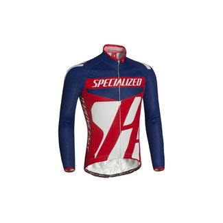 Specialized SPECIALIZED PRO RACING JERSEY LS BLUE/RED/WHT XL