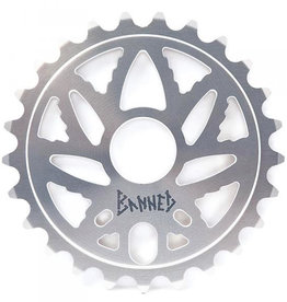 BANNED BUDSAW SPROCKET 25T Silver