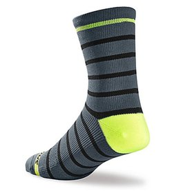 Specialized SPECIALIZED SL TALL SOCK CARB/HYP GRN S/M