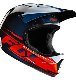 FOX Rampage Helmet bue/red Medium 57-58cm