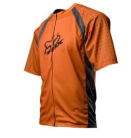 FOX LIve Wire Jersey burnt orange large