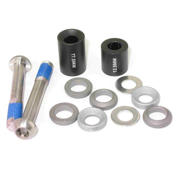 Avid Disc Adapter 20S, 20mm, Stahl, PostMount (CPS + Standard), (vorne 180mm,200mm, hinten 160mm Rotor)