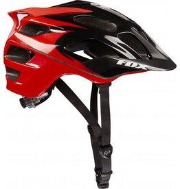 Fox Wear FOX FLux Helmet Black/Red S/M 56-58cm