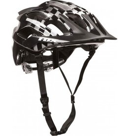 Fox Wear FOX FLux Helmet Black/Checker L/XL 59-60cm