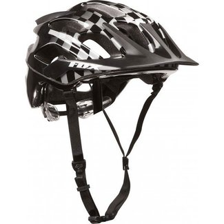 FOX FLux Helmet Black/Checker L/XL 59-60cm