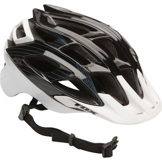 FOX Striker Helmet black White S/M