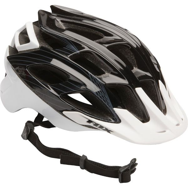 FOX Striker Helmet black/white  L/XL