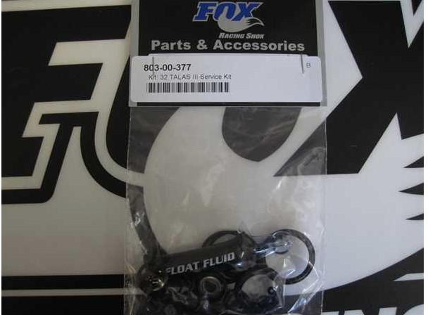 Fox Dichtungen Kit: Cartridge Seals, Forx, 32mm Open Bath