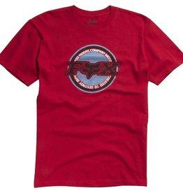 Fox Wear FOX Wheelbite s/s Tee red Large