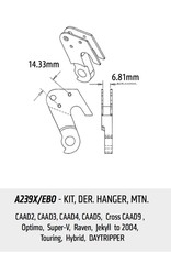 Cannondale CANNONDALE SWITCH ASSY A239X / EBO 14,33mm / 4,67