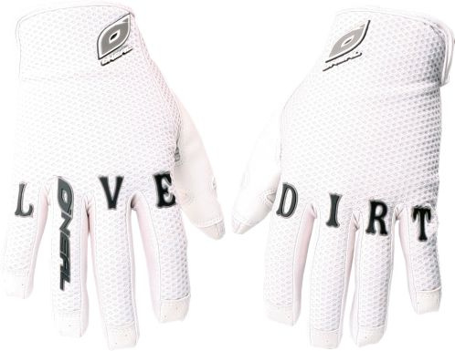 ONEAL O'NEAL  Andreu Loves Dirt Glove white M/9