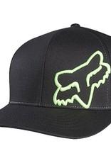 FOX FLEX 45 FLEXFIT HAT L/XL blk/green