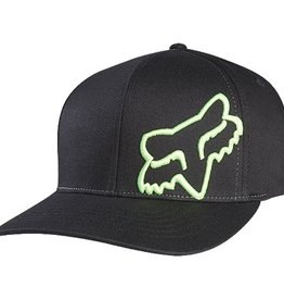 FOX FLEX 45 FLEXFIT HAT L/XL blk/green