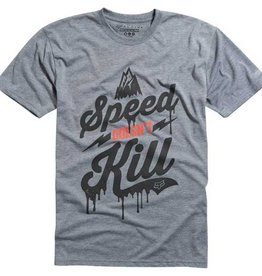 FOX SPEED WOBBLE TECH TEE HTR GREY Medium