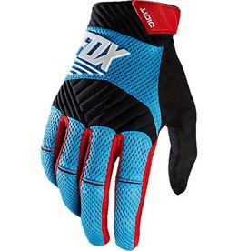 Fox Wear FOX DIGIT GLOVE CYAN Large