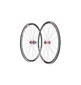 TSR30 Rennrad-Laufradsatz Shimano Mig70 + Mag170 + Nippel rotD-Light + TSR 30-Felge schwarz