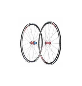 Tune TSR30 Rennrad-Laufradsatz Shimano Mig70 + Mag170 + Nippel rotD-Light + TSR 30-Felge schwarz