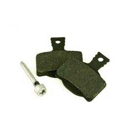 MAGURA Bremsbelag 7.2, Endurance mit Belaghalteschraube Aluminium, MT-Scheibenbremse 2 Kolben (VE = 1 Paar)