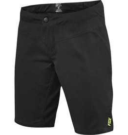 FOX WOMENS RIPLEY SHORT SMALL BLK