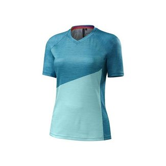 Specialized SPECIALIZED ANDORRA COMP JERSEY SMALL TUQUOISE