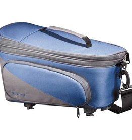 Racktime RACKTIME System Tasche Talis Plus blau/grau, inkl. Snapit Adapter