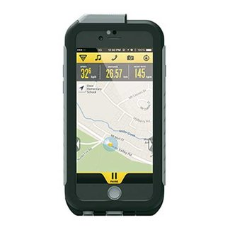 Topeak TOPEAK Weatherproof RideCase für iPhone 6 + Halter, black/gray