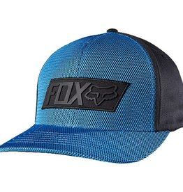 FOX SLOW FOCUS FLEXFIT HAT S/M electric blue