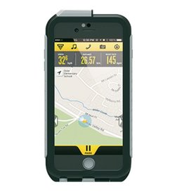 Topeak TOPEAK Weatherproof RideCase für iPhone 6 Plus + Halter, black/gray