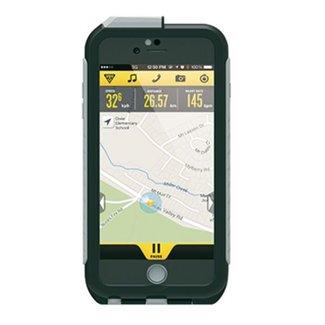 Topeak TOPEAK Weatherproof RideCase für iPhone 6 Plus + Halter, black/gray