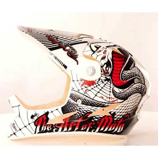 ONEAL O'NEAL Fury Fidlock DH Helmet SERPENT white/red Large