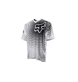 FOX 360 Short Sleeve Jersey Medium white/blk