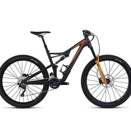 Specialized SPECIALIZED STUMPJUMPER FSR COMP CARBON 650B BLK/GAL ORG/MOTO ORG L