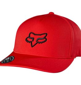 FOX LAMPSON FLEXFIT HAT L/XL red