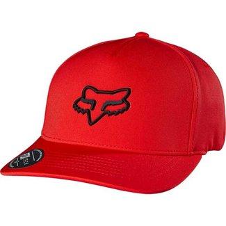 FOX LAMPSON FLEXFIT HAT S/M red