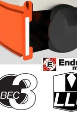 ENDURO BEARINGS 6800 LLU ABEC 3 MAX Lager, 10 x 19 x 5 6800LLUMAX