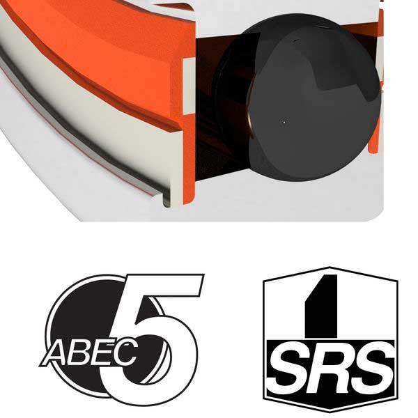 ENDURO BEARINGS 61001 SRS ABEC 5 Lager, 12 x 28 x 8 61001SRS