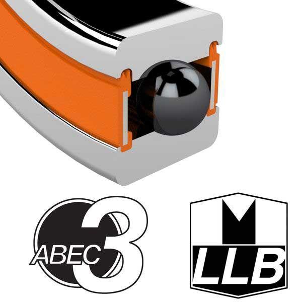 ENDURO BEARINGS608 LLB ABEC 3 Lager, 8 x 22 x 7 608LLB