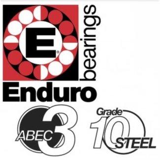 ENDURO BEARINGS 6708 2RS-6W ABEC 3 Lager, 40 x 50 x 6 67082RS-6W