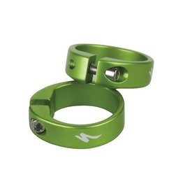 Specialized GRIP LOCKING RING 1 PAIR GRN ANODIZED
