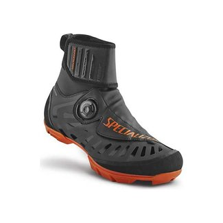 Specialized SPECIALIZED DEFROSTER TRAIL MTB SHOE BLK/NEON ORG REFL 46/12.25
