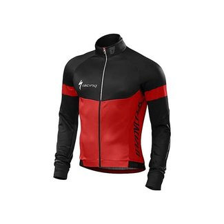 Specialized SPECIALIZED THERMINAL LIONG SLEEVE JERSEY XL  Red/Black Team