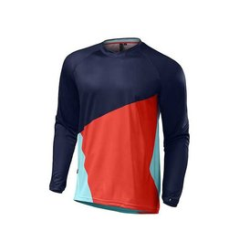 Specialized SPECIALIZED Demo Pro Long Sleeve Jersey navy rocket red XL