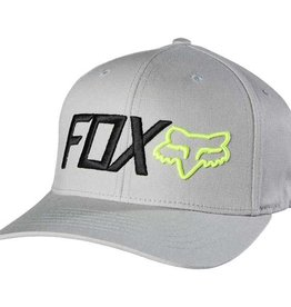 Fox Wear FOX SCATHE FLEXFIT HAT S/M grey