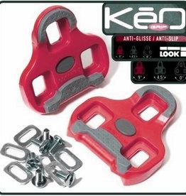 Look Look Pedalplatten Keo Grip rot Paar