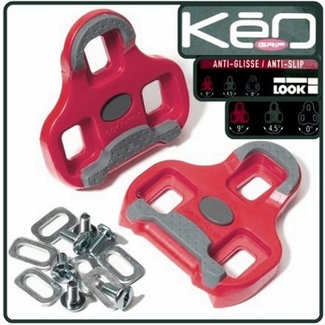 Look Pedalplatten Keo Grip rot Paar